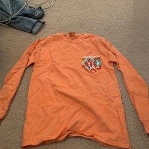 Long Sleeve Chi Omega T-Shirt